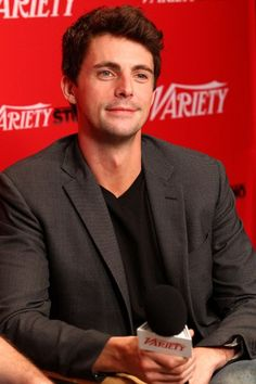 This my favourite picture of Matthew Goode today. There really needs to be a restraining order on that neck.