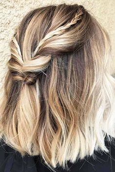 Trendy Hairtyles for Short Hair, Short Tapered Pixie Messy, Thick Hair, Hair Color Balayage Thick...