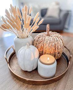 Thanksgiving Decorations, Seasonal Decor, Halloween Decorations, Table Decorations, Holiday Decor, Fall Home Decor, Autumn Home, Home Decoracion, Fall Halloween