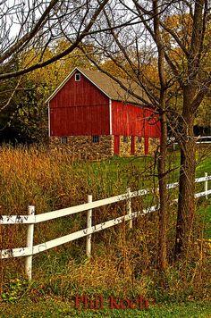Wisconsin Barn