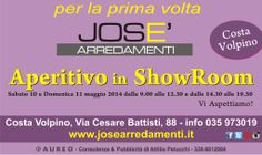 Aperitivo in ShowRoom da Josè Arredamenti