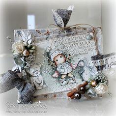 Yuri's Magnolia Blog: North Pole Tilda - DT card for The Ribbon Girl