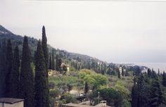 "Another view of Il Vittoriale, showing what became ""my"" Villa della Tempeste.."