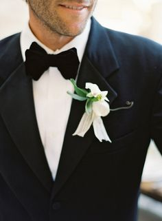 love the idea of all black tux for Troy, no tacky colored tie or vest!!