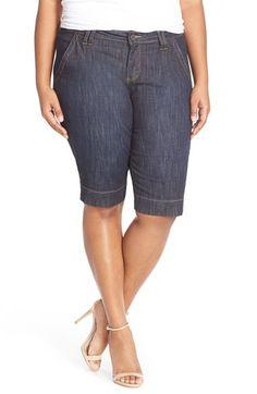 KUT from the Kloth Denim Bermuda Shorts (Plus Size)