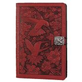 Beautiful leather goods!   Leather Nexus 7 Cover | Hummingbird in Red