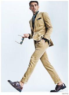Arthur Kulkov Leaps Into Action for American GQ Style Fashion Editorial image Arthur Kulkov American GQ Style 006
