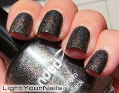 LightYourNails!: Nded Brown Saddle #holographic #nailpolish #bbloggers