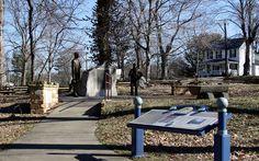 Lincoln Memorial Picnic Grounds     Union County.   This photo was taken on June 10, 2012 in Jonesboro, Illinois, US.