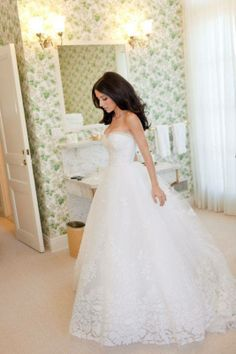 Lace ball gown! Elegant princess