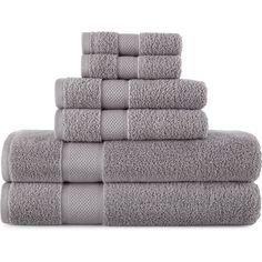 Liz Claiborne MicroCotton Bath Towels ($9.99) ❤ liked on Polyvore featuring home, bed & bath, bath, bath towels, liz claiborne, cotton hand towels, cotton washcloths, floral bath towels and cotton bath towels