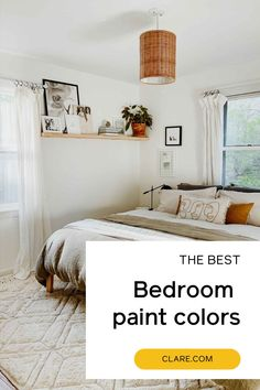 All of the best bedroom paint colors in one place. Read our guide now!