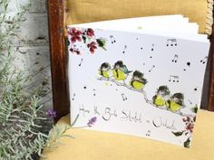 How the Birds Started an Orchestra by Anna Wright Anna Wright, Mixed Media Collage, Stationery Design, Orchestra, Childrens Books, Christmas Gifts, Birds, Writing, Illustration