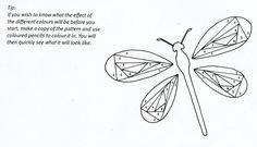 iris paper folding patterns free templates | Thanks So Much Iris Folding Card