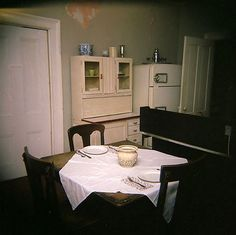 Flannery O'Connor's kitchen,  Milledgeville, Georgia