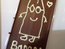 schokifaktur die Schokorevolution Schokolade selbst machen in den Stachus Passagen in München Minion banana