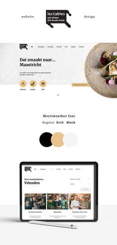 Brand identity - Branding- Webdesign voor Les Tables door Studio Sowieso Identity Branding, Studio, Web Design, Tables, Mesas, Design Web, Branding, Website Designs, Study