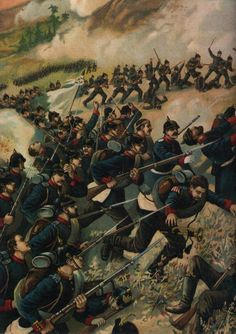 Advance of the Prussian Guards, Franco-Prussian War