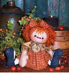 Coisinhas de Pano: Boneca country moldes