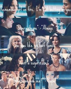 CATCHING FIRE QUOTES ❤️❤️❤️❤️