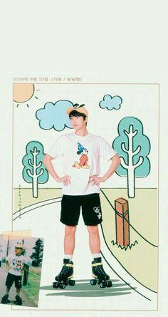 Read Illustrations of BTS, made by from the story scenery Foto Bts, Bts Photo, Bts Memes, Bts Meme Faces, Namjoon, Rapmon, Bts Boys, Bts Bangtan Boy, Jin