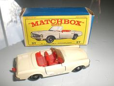 Matchbox  mercedes SL
