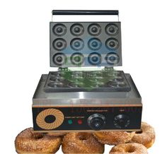 257.60$  Watch here - http://alijwc.worldwells.pw/go.php?t=32262860005 - Free shipping Good quality with CE 12 hole Waffle Making Machine Sweet Donuts Makers