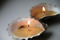 Get Crafty: DIY Seashell Candles