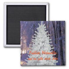 Christmas Tree, white