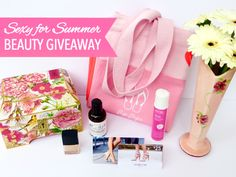 "Win this deluxe $115 prize package by entering the ""Sexy for Summer Beauty Giveaway""! https://gleam.io/gVEot-5Jl8aB?l=http%3A%2F%2Finspirationsandcelebrations.net%2F2015%2F06%2Fsexy-for-summer-beauty-giveaway.html"