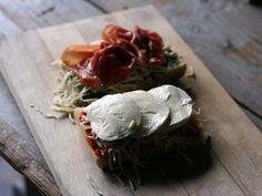 Prosciutto Mozzarella Grilled Cheese