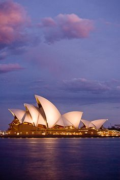 Opera House--Sydney, Australia. I Want to sing there someday!