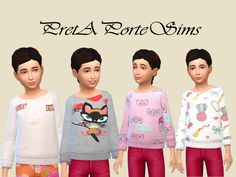 Sweaters by PretAporteSims at TSR • Sims 4 Updates