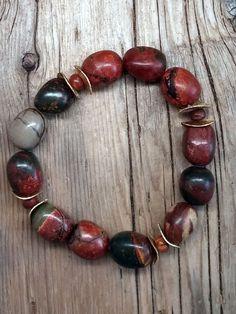 jasper bracelet/02 - red creek
