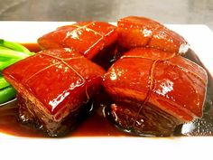 Dong Po Rou is a well known dish from the Jiangsu & Zhejiang provinces. It's made with pork belly. Half fat, and half lean meat. When you eat it, it's instan...
