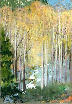 Theodore N. Lukits (1897-1992), plein air pastels