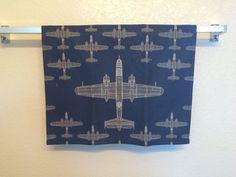 B-25 Mitchell Bomber Bar Towel by JellicleStudio on Etsy