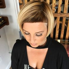 WEBSTA @ dillahajhair - I love my job! My beautiful friend came to see my today. love you Sandie! Dance Hairstyles, Hairstyles With Bangs, Easy Hairstyles, Haircuts, Short Bangs, Short Hair Cuts, Short Hair Styles, Blonde With Dark Roots, How To Cut Bangs