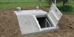 Family Bunker Plans 445715694371716891 - U. Storm Shelters – Protect your family or business from dangerous storms and tornadoes with an exterior concrete storm shelter or interior steel safe room. Homestead Survival, Camping Survival, Survival Prepping, Survival Skills, Underground Shelter, Underground Homes, Underground Cellar, Casa Bunker, Storm Cellar