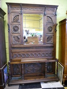 US $2,250.00 in Antiques, Furniture, Hall Trees & Stands