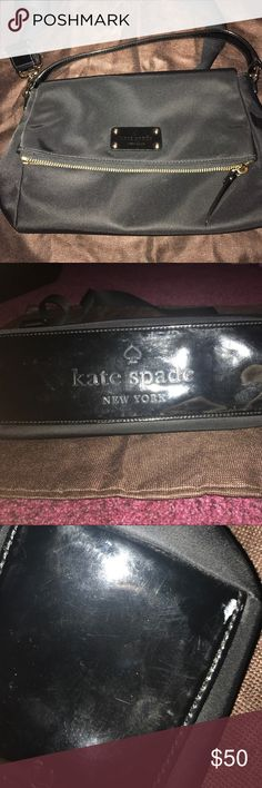 Kate Spade Crossbody Kate Spade crossbody. In great condition. Small mark on bottom otherwise no other flaws kate spade Bags Crossbody Bags