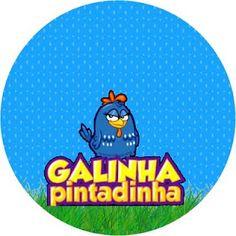 Tag Azul Galinha Pintadinha