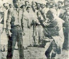 Gandhi was on his way to address a prayer meeting when his assassin, Nathuram Godse, fired three bullets from a Beretta 9 mm pistol into his chest.