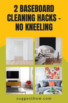 Does the thought of cleaning baseboards hurt your back? How often to clean baseboards anyway? Find out some of the best ways for how to clean baseboards without keeling. #DIYcleaningrecipe #cleaninghacks #cleaningtricks #homehacks #home #homemaintenance #homemaking #homemakingtips #housekeeping #householdhacks Deep Cleaning Tips, Household Cleaning Tips, Cleaning Hacks, Hacks Diy, Home Hacks, Cleaning Baseboards, Neat And Tidy, Homemaking, Housekeeping