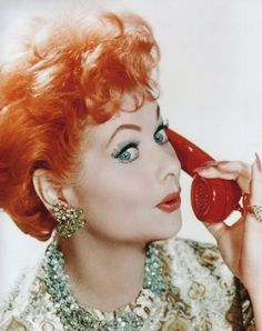 Lucille Ball, red phone