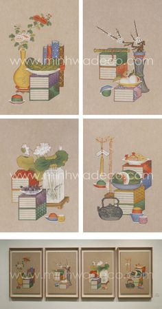 Korean Painting, Korean Traditional, Chinoiserie, Packaging Design, Doodles, Kids Rugs, Holiday Decor, Illustration, Image