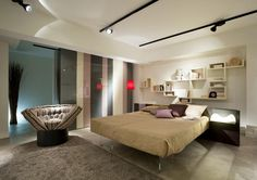 Design lightness leaves space to your dreams #BEDROOM
