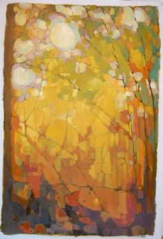 Olivia Pendergast I pinned this painting because I am working with trees. The colours go very well together.