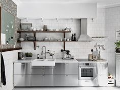Fact: Scandinavians Have the World's Most Stylish Kitchens  Apartment Therapy