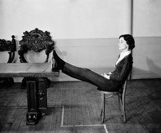 Audrey Hepburn in New York, 1957, photo by Philippe Halsman